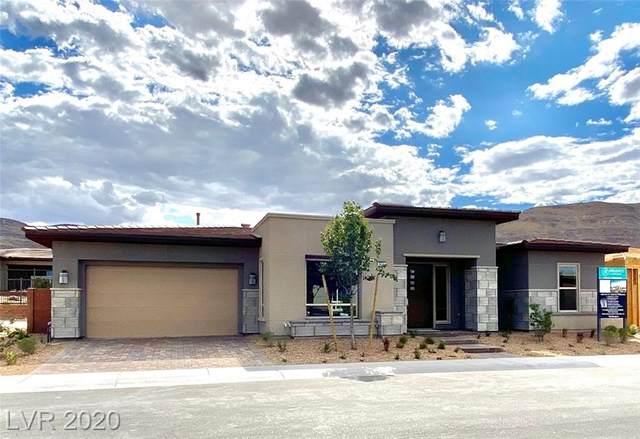 6691 Titanium Crest Street, Las Vegas, NV 89148 (MLS #2250341) :: The Lindstrom Group