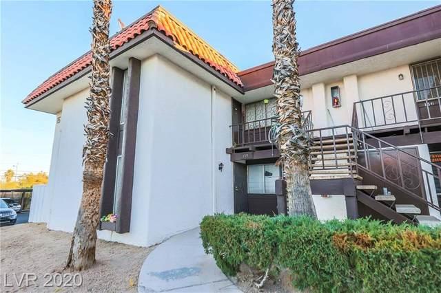 1405 Vegas Valley Drive #160, Las Vegas, NV 89169 (MLS #2250485) :: Jeffrey Sabel