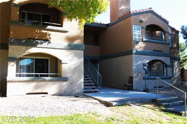 230 Mission Newport Lane #203, Las Vegas, NV 89107 (MLS #2250520) :: Jeffrey Sabel