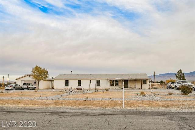 740 E Elderberry Street, Pahrump, NV 89048 (MLS #2250572) :: Jeffrey Sabel