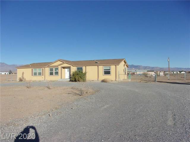 3631 S Tournament Avenue, Pahrump, NV 89048 (MLS #2250616) :: Jeffrey Sabel
