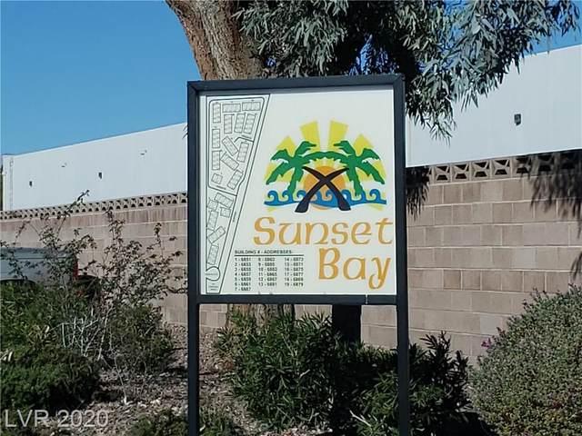 6865 Tamarus Street #103, Las Vegas, NV 89119 (MLS #2250628) :: Hebert Group | Realty One Group