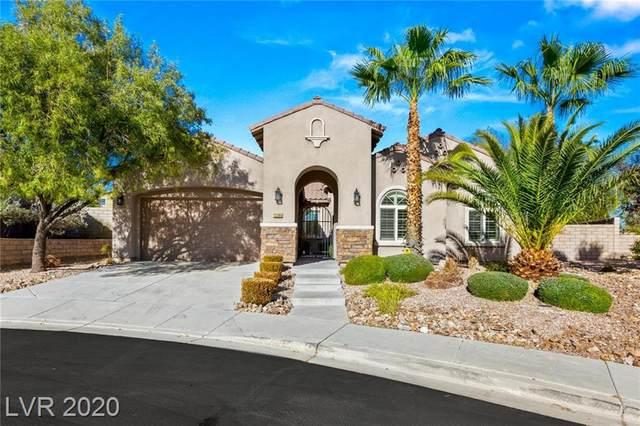 12284 Montura Rosa Place, Las Vegas, NV 89138 (MLS #2250685) :: Jeffrey Sabel