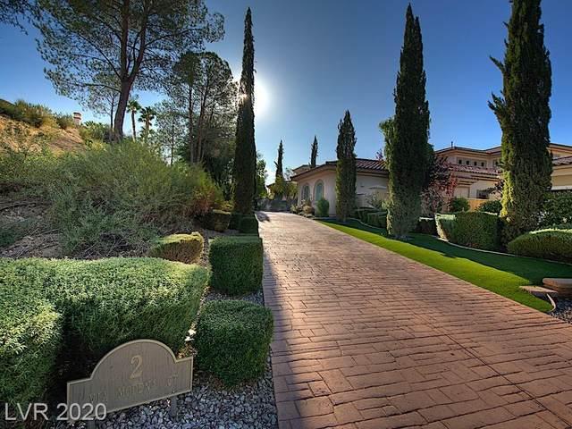 2 Via Modena Court, Henderson, NV 89011 (MLS #2250710) :: Jeffrey Sabel