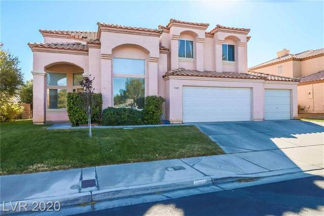 5305 Crimson Ridge Drive, Las Vegas, NV 89130 (MLS #2250861) :: Hebert Group | Realty One Group