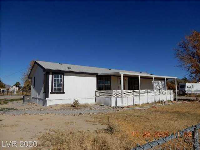 3420 Rand Lane #1, Pahrump, NV 89060 (MLS #2251112) :: The Lindstrom Group