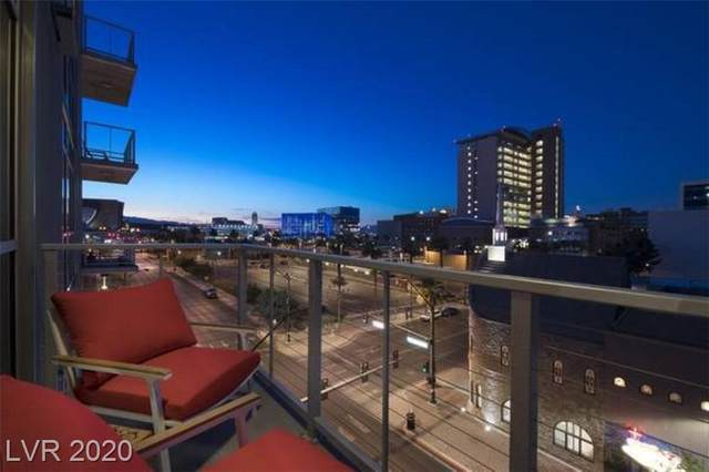 353 Bonneville Avenue #511, Las Vegas, NV 89101 (MLS #2251638) :: The Perna Group