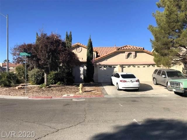 9139 Cedeno Street, Las Vegas, NV 89123 (MLS #2251961) :: Jeffrey Sabel