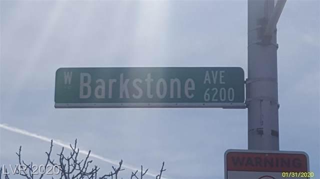 6208 Barkstone Avenue, Las Vegas, NV 89108 (MLS #2252059) :: The Lindstrom Group