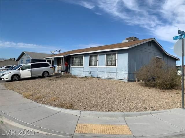 1604 June Av Avenue, Las Vegas, NV 89031 (MLS #2252122) :: Jeffrey Sabel