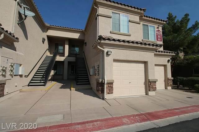 4620 Puglia Lane #103, North Las Vegas, NV 89084 (MLS #2252138) :: The Shear Team