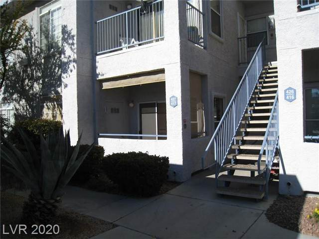 2201 Ramsgate Drive #417, Henderson, NV 89074 (MLS #2254312) :: The Perna Group