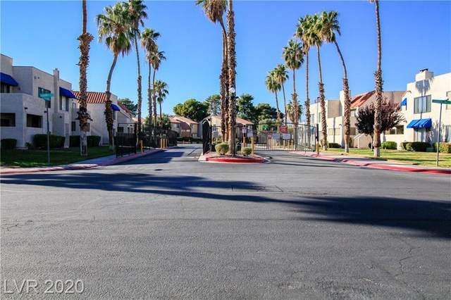 4271 Sanderling Circle #142, Las Vegas, NV 89103 (MLS #2255176) :: Signature Real Estate Group