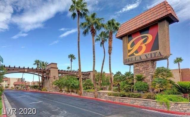 5061 River Glen Drive #86, Las Vegas, NV 89103 (MLS #2255577) :: Vestuto Realty Group