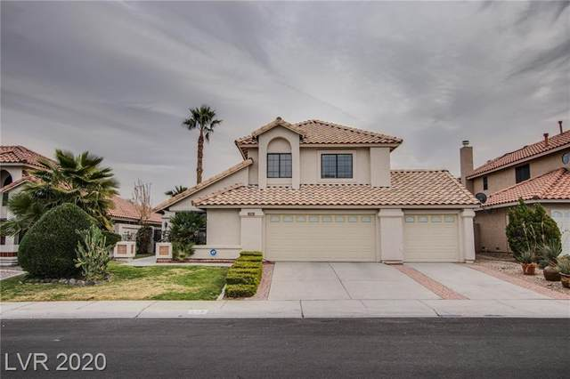 376 Sanctuary Court, Henderson, NV 89014 (MLS #2255782) :: The Lindstrom Group