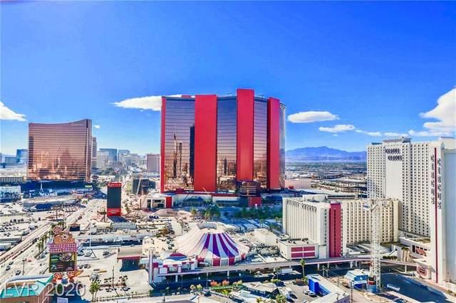 2700 Las Vegas Boulevard #2401, Las Vegas, NV 89109 (MLS #2255821) :: Team Michele Dugan