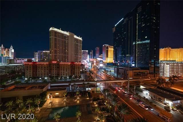 125 Harmon Avenue #917, Las Vegas, NV 89109 (MLS #2255871) :: Team Michele Dugan