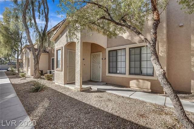 2151 Hussium Hills Street #107, Las Vegas, NV 89108 (MLS #2256709) :: Team Michele Dugan