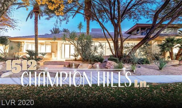 1512 Champion Hills Lane, Las Vegas, NV 89134 (MLS #2256717) :: The Lindstrom Group