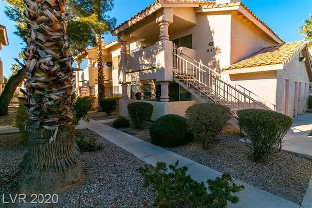 933 Boulder Mesa Drive #102, Las Vegas, NV 89128 (MLS #2257447) :: Vestuto Realty Group