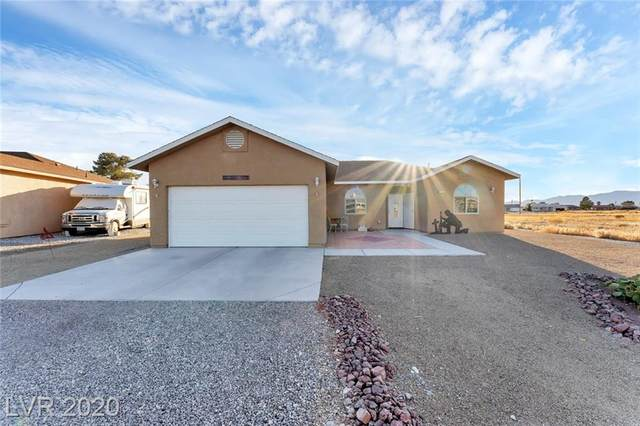 351 E Happy Canyon Road, Pahrump, NV 89048 (MLS #2257666) :: The Lindstrom Group