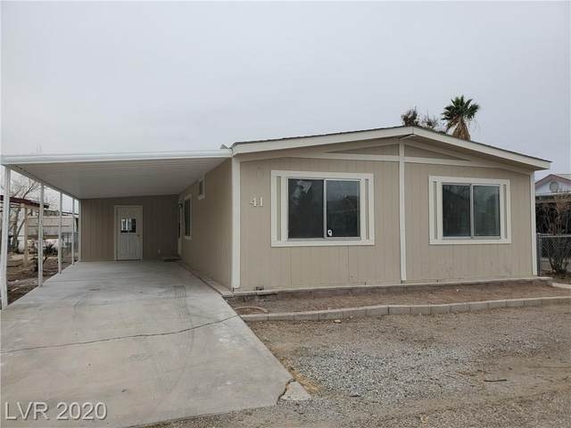 41 Russell Road, Pahrump, NV 89048 (MLS #2258222) :: The Lindstrom Group