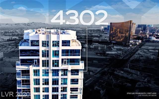 2700 Las Vegas Boulevard #4302, Las Vegas, NV 89109 (MLS #2258404) :: Team Michele Dugan