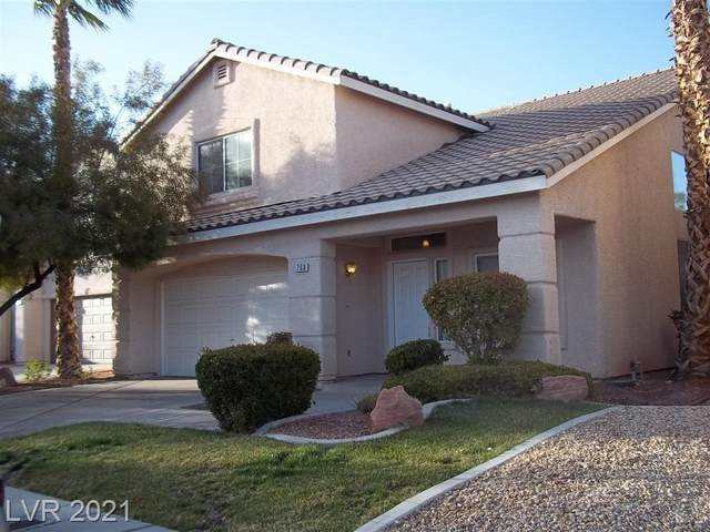 760 Jaded Emerald Court, Las Vegas, NV 89183 (MLS #2258595) :: The Lindstrom Group