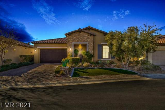 205 Castellari Drive, Las Vegas, NV 89138 (MLS #2258663) :: The Perna Group