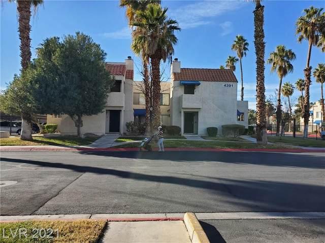 4381 Gannet Circle #3, Las Vegas, NV 89103 (MLS #2258722) :: The Mark Wiley Group | Keller Williams Realty SW