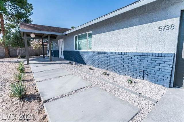 5738 Eldora Avenue, Las Vegas, NV 89146 (MLS #2258852) :: Billy OKeefe   Berkshire Hathaway HomeServices
