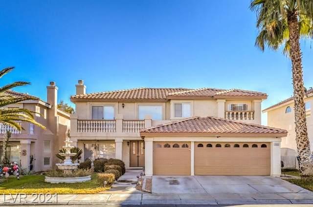3632 Crescent Canyon Street, Las Vegas, NV 89129 (MLS #2259040) :: Billy OKeefe | Berkshire Hathaway HomeServices