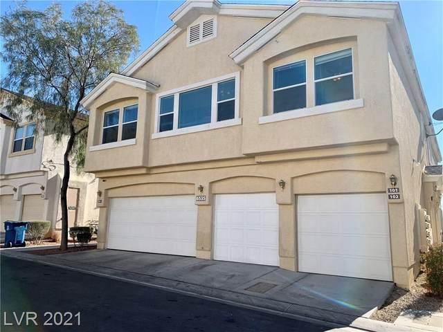 6535 Buster Brown Avenue #101, Las Vegas, NV 89122 (MLS #2259141) :: Vestuto Realty Group