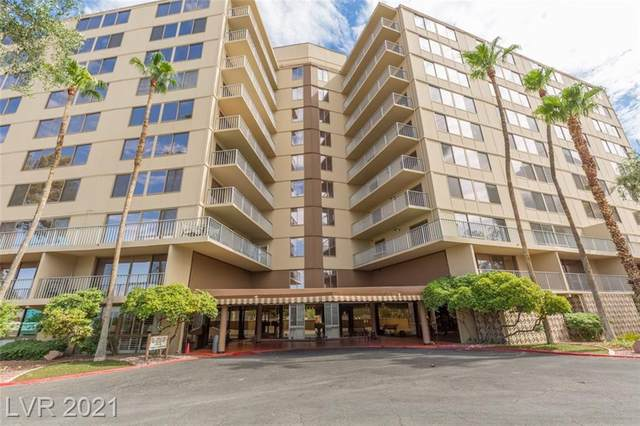205 E Harmon Avenue #907, Las Vegas, NV 89169 (MLS #2259354) :: Vestuto Realty Group