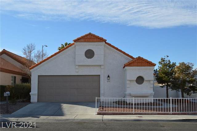 233 Coconut Grove Court, Las Vegas, NV 89145 (MLS #2259922) :: The Perna Group