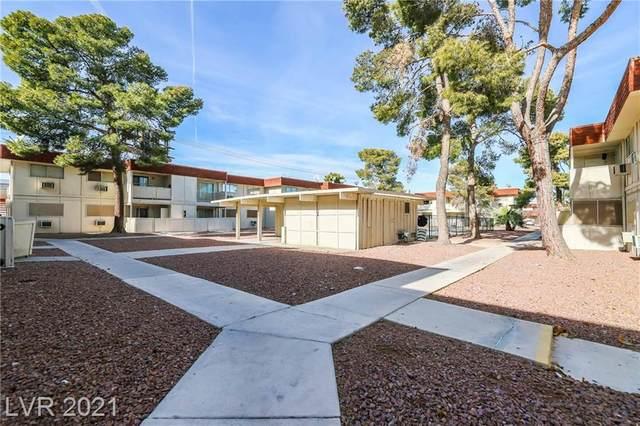 5400 Swenson Street #32, Las Vegas, NV 89119 (MLS #2260240) :: The Lindstrom Group