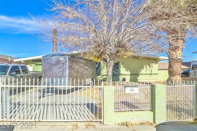 500 Recco Avenue, North Las Vegas, NV 89030 (MLS #2260360) :: Jeffrey Sabel