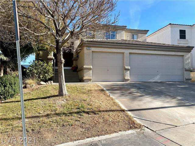 757 Durgos Drive, Henderson, NV 89012 (MLS #2261023) :: Signature Real Estate Group
