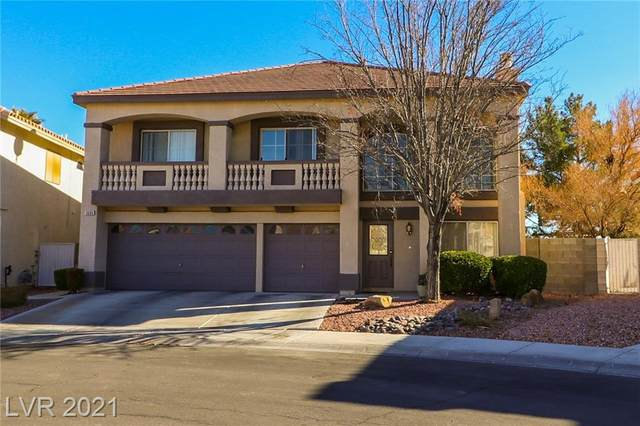 3600 Crescent Canyon Street, Las Vegas, NV 89129 (MLS #2261211) :: The Lindstrom Group