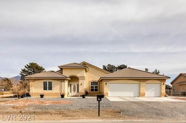 2901 Spy Glass Avenue, Pahrump, NV 89048 (MLS #2261325) :: Billy OKeefe | Berkshire Hathaway HomeServices