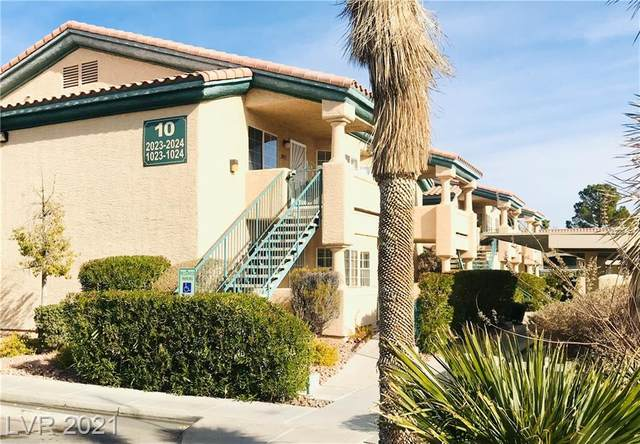 8410 Eldora Avenue #1023, Las Vegas, NV 89117 (MLS #2261725) :: The Perna Group