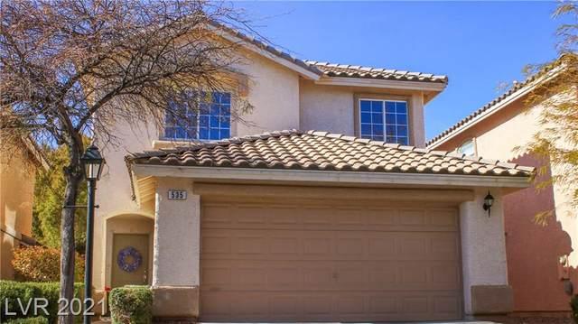 535 Poplar Leaf Street, Las Vegas, NV 89144 (MLS #2261908) :: The Perna Group