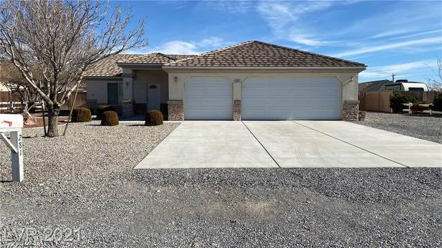 281 Cimmarron Place, Pahrump, NV 89048 (MLS #2261958) :: The Lindstrom Group