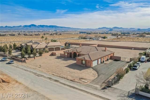 3955 Jo Rae Avenue, Las Vegas, NV 89141 (MLS #2261960) :: The Lindstrom Group