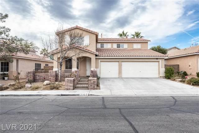 2333 Brockton Way, Henderson, NV 89074 (MLS #2261978) :: Signature Real Estate Group