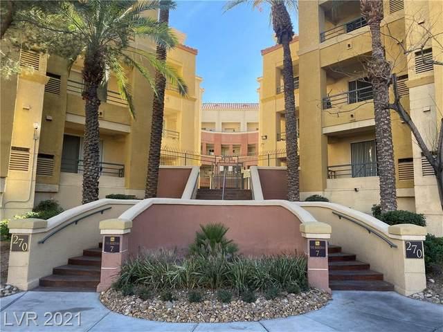 270 E Flamingo Road #226, Las Vegas, NV 89169 (MLS #2262037) :: Team Michele Dugan