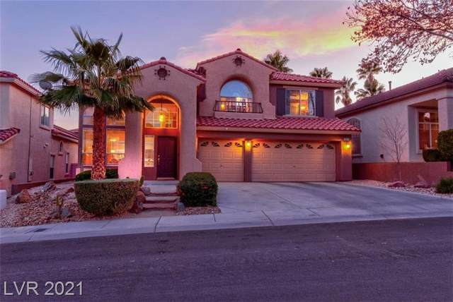10121 Hill Country Avenue, Las Vegas, NV 89134 (MLS #2262053) :: The Lindstrom Group