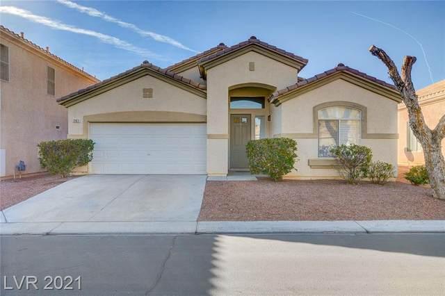 281 Waterton Lakes Avenue, Las Vegas, NV 89148 (MLS #2262190) :: Signature Real Estate Group