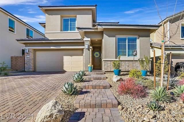 2647 Iron Crest Lane, Las Vegas, NV 89138 (MLS #2262258) :: The Perna Group