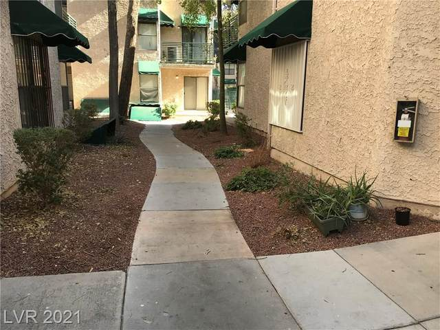 490 Elm Drive #206, Las Vegas, NV 89169 (MLS #2262308) :: Signature Real Estate Group